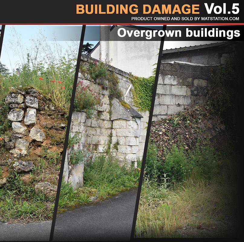 Photo Pack - Building Damage - Vol.5