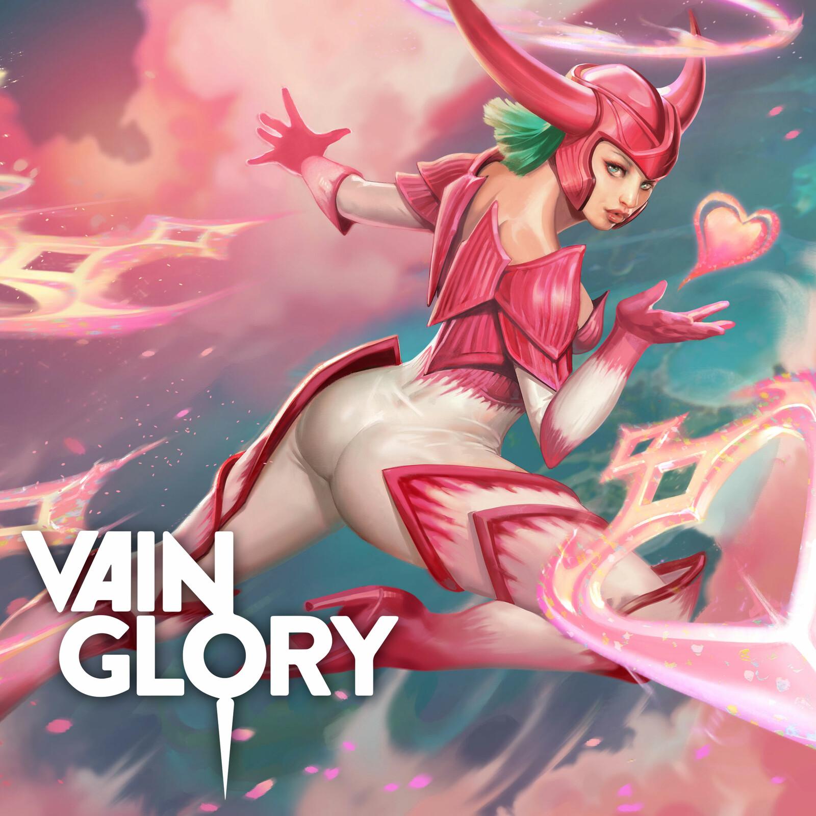 Soaring Heart Ishtar Splash - Vainglory Valentines day Skin