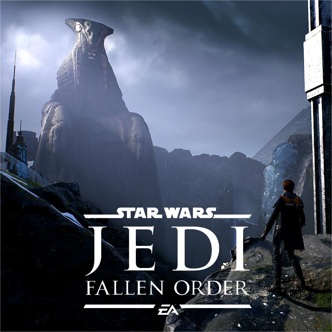 Star Wars - JEDI: Fallen Order | Zeffo Weathered Statue Level Shots