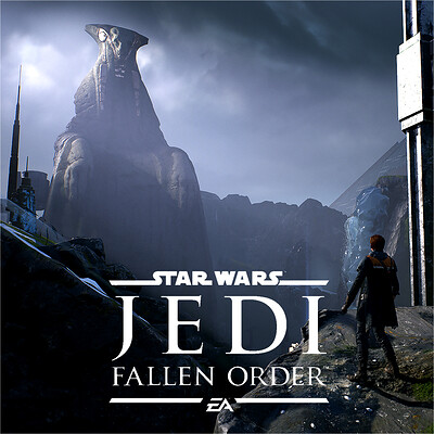 Star Wars - JEDI: Fallen Order | Zeffo Weathered Statue Level Shots