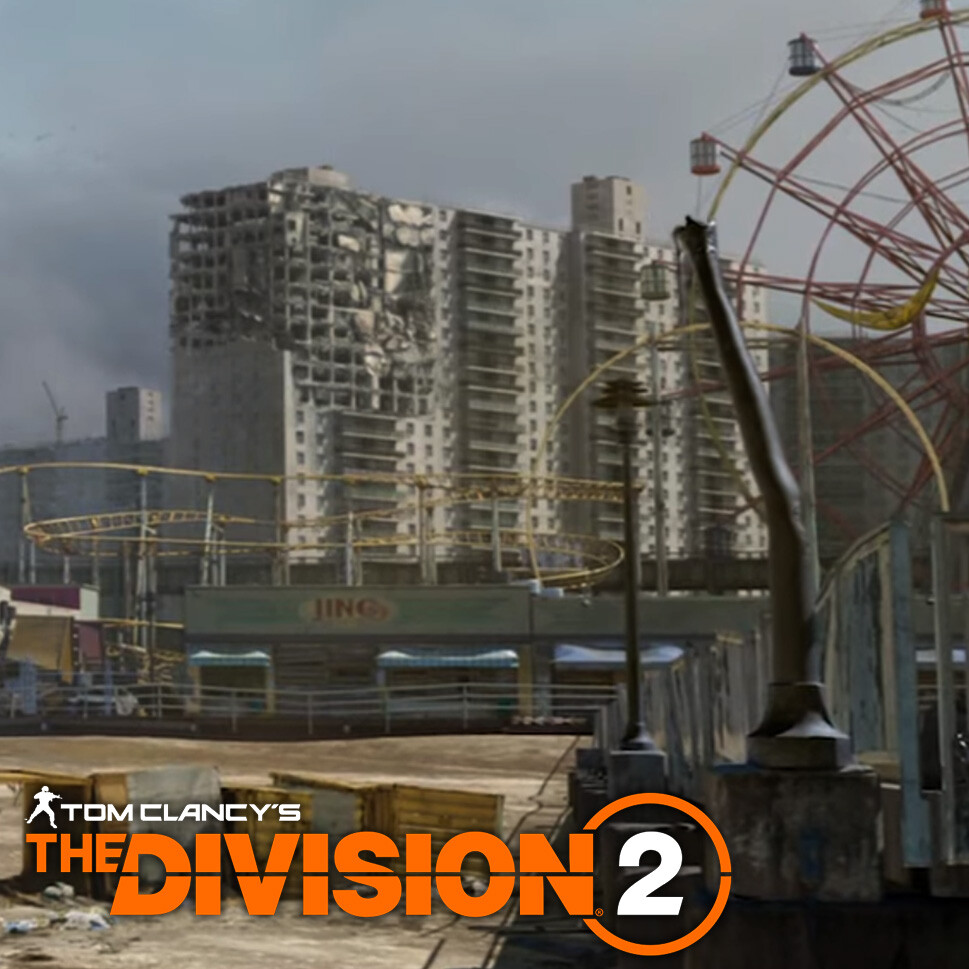 Tom Clancy's The Division 2: E3 2019   Logotype - Graphic design