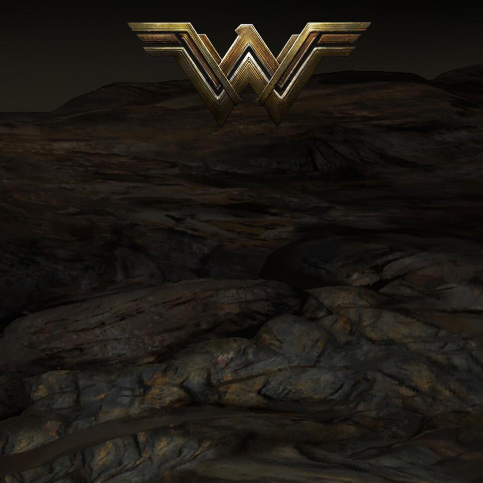 Wonder Woman Environment textures