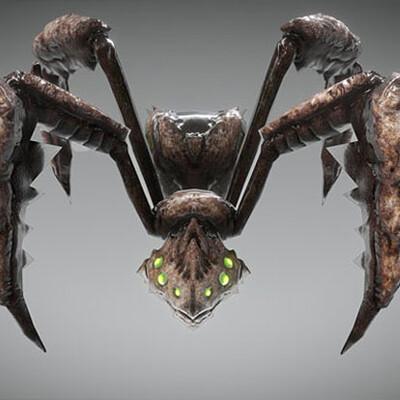 Spuke 3d creature