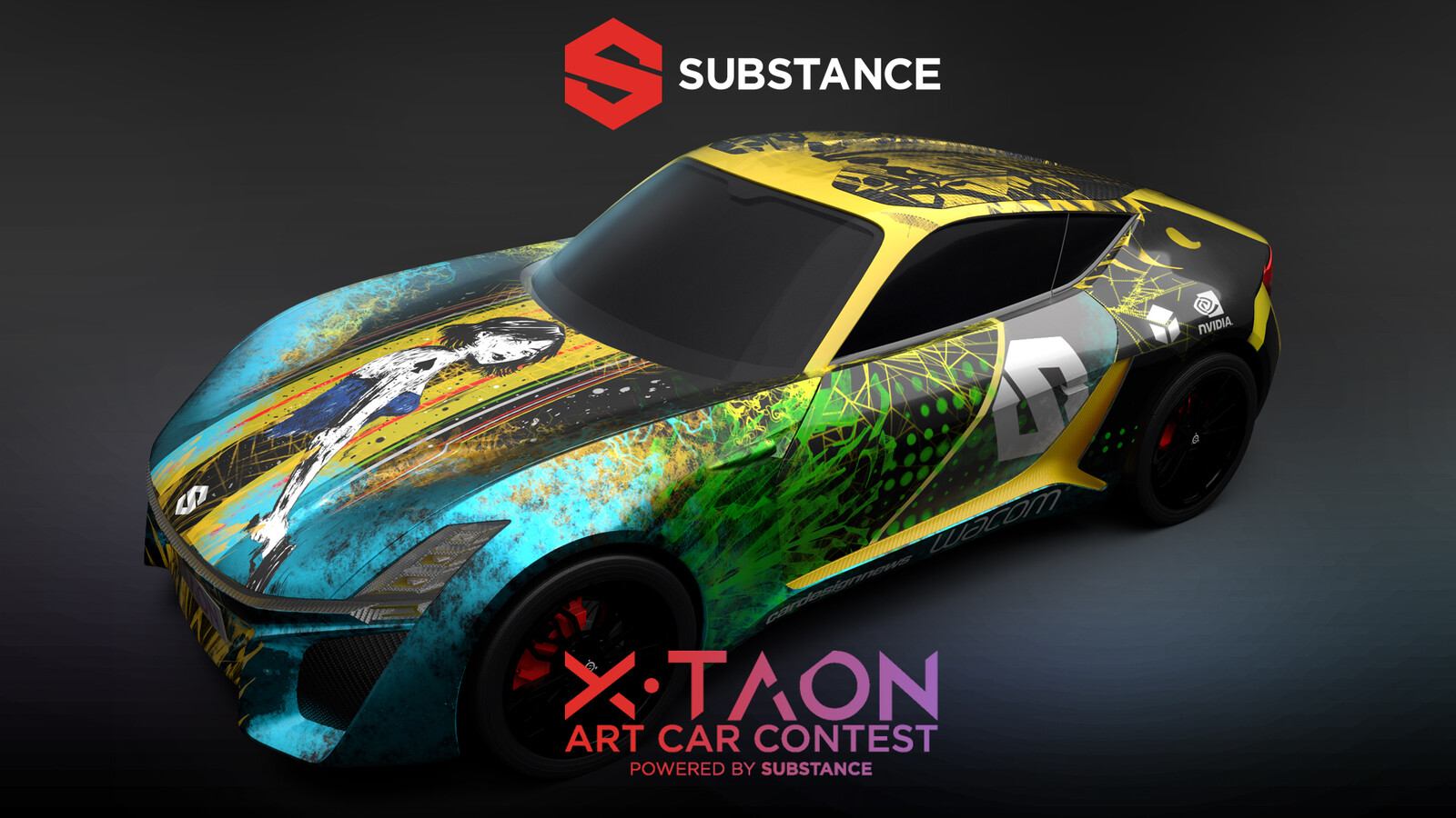 XTAON Art Car Contest Entry