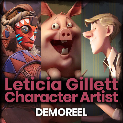 Leticia gillett demoreel art