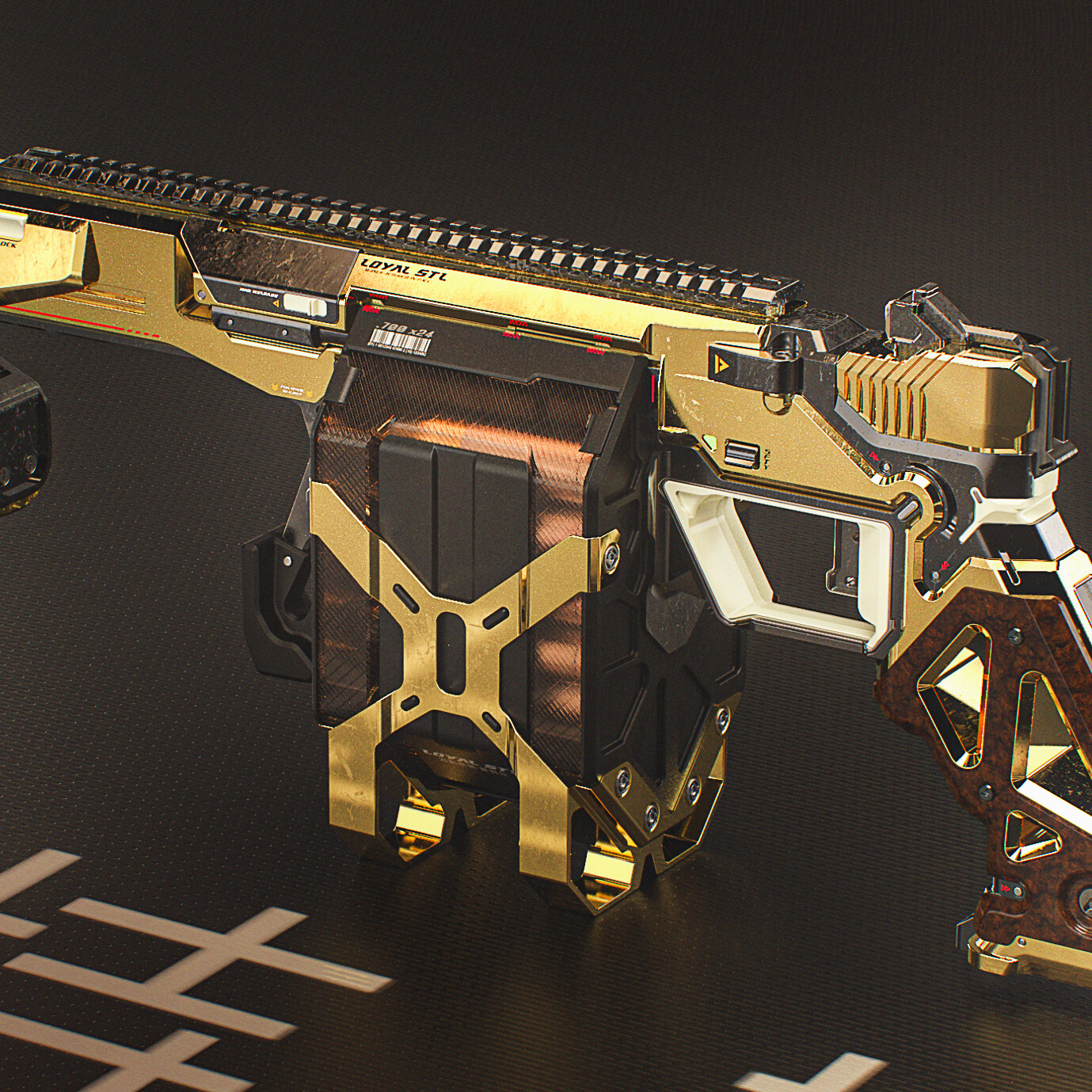 BLD-M355  Pump action heavy pistol