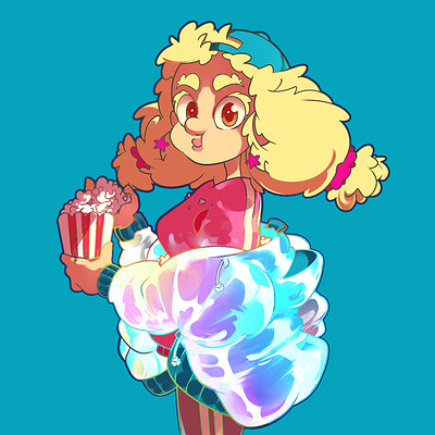 Aleksandra grzanek popcorn girl thumbnail