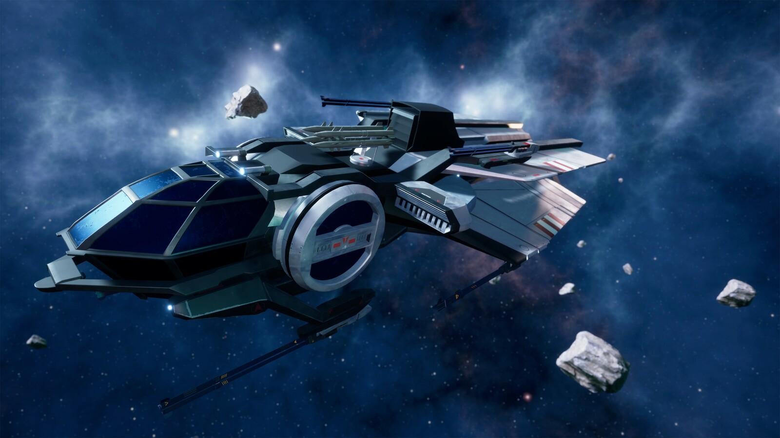 Star Citizen - Aurora LX-B (UE4)