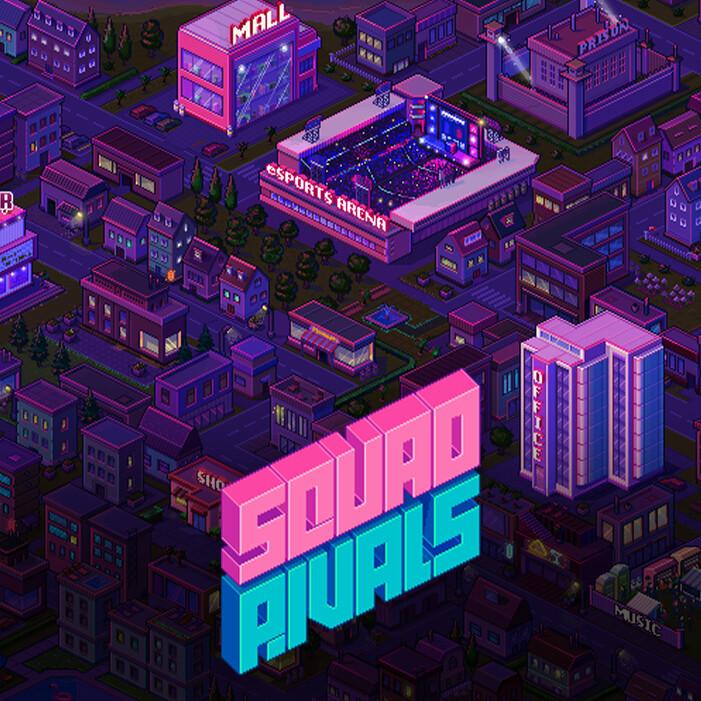 Squad Rivals: City map