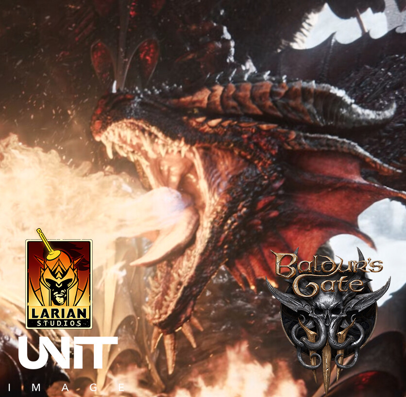 Dragons - Baldur's Gate 3 Opening cinematic