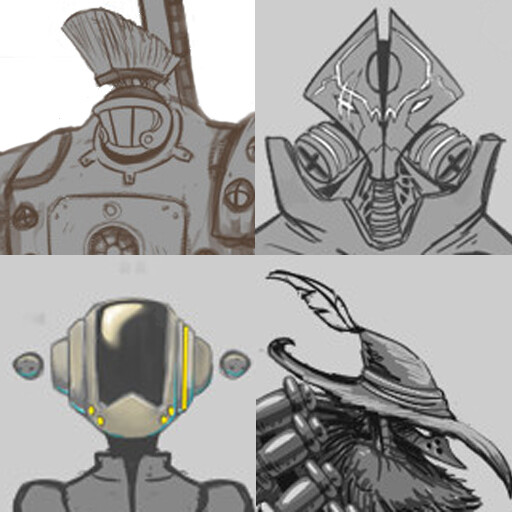 Rust In Piece project - Character Design