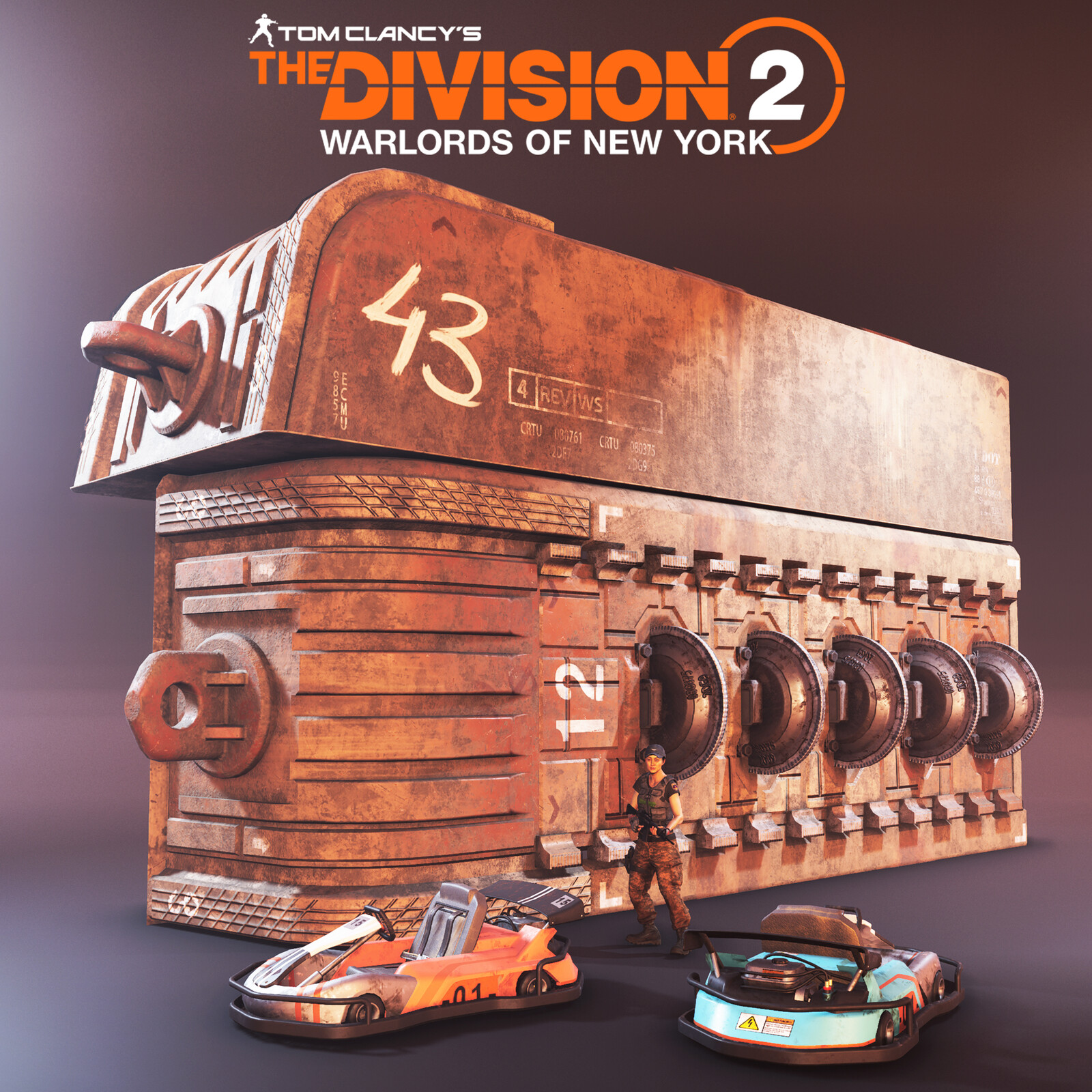 Division 2: Warlords of New York Props