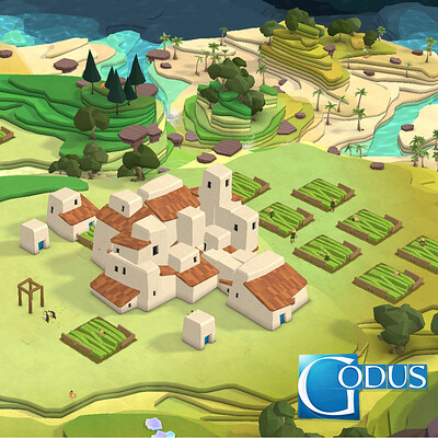 """Godus"" Visual development"