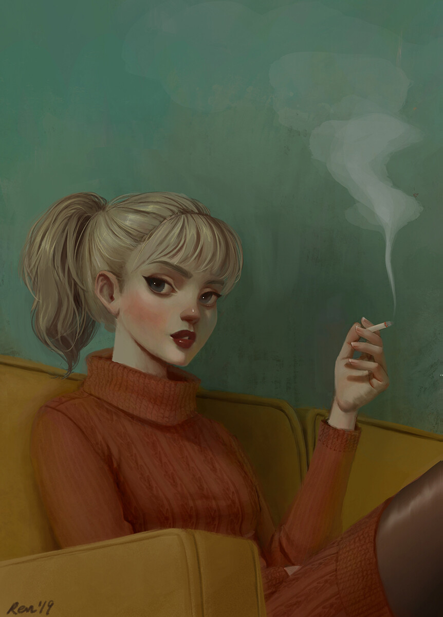Cigarette break