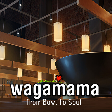 Wagamama - From bowl to soul - Backgrounds
