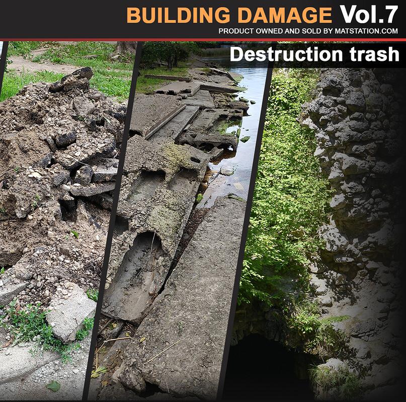 Photo Pack - Building Damage - Vol.7