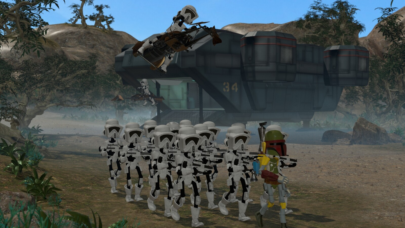 Galaxy Empire Imperial Troops Deployment