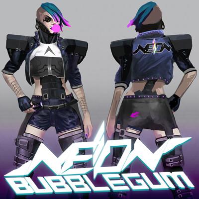 Adam thompson neon bubblegum suzi concept square
