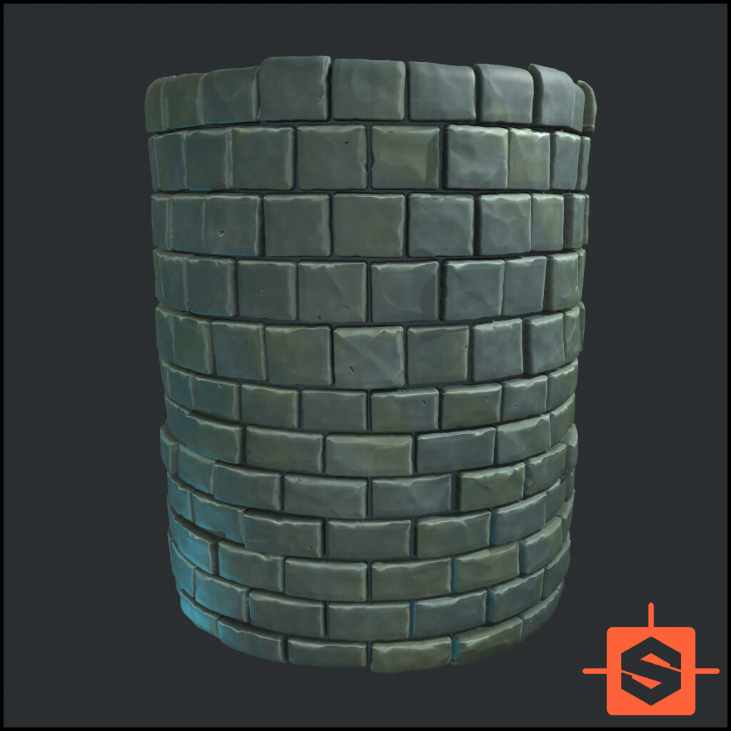 Stylised Brick