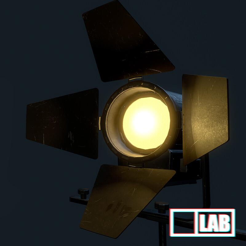 Spot Light Prop