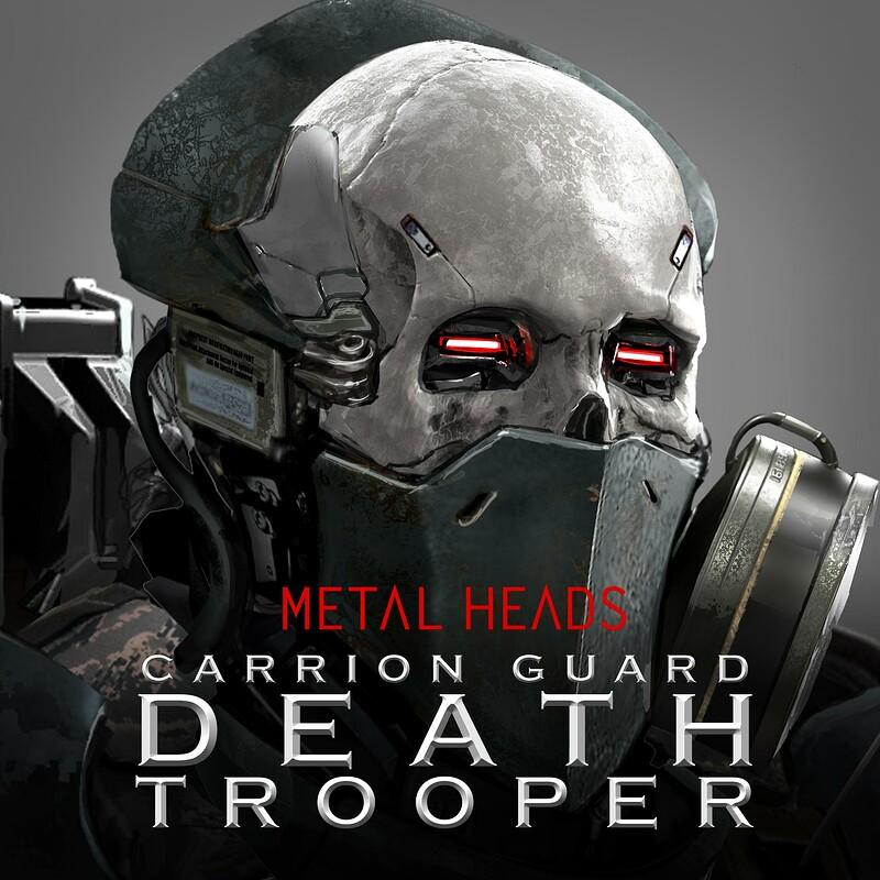 METAL HEADS - Carrion Guard - DeathTrooper