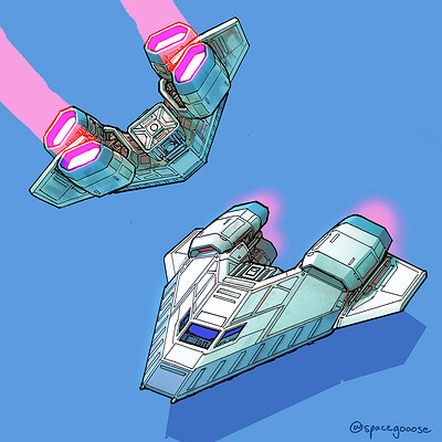 Space gooose shuttlecraft sm2