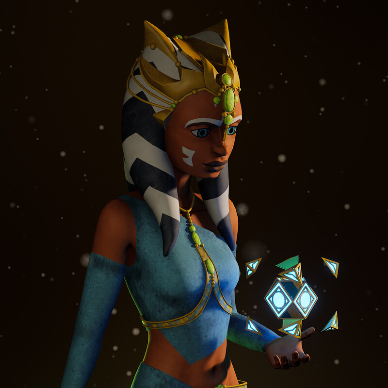 Ahsoka Tano Zygerrian Slave Disguise