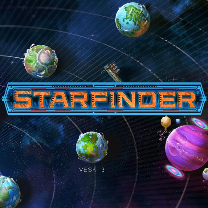 Starfinder Veskarium Solar Map
