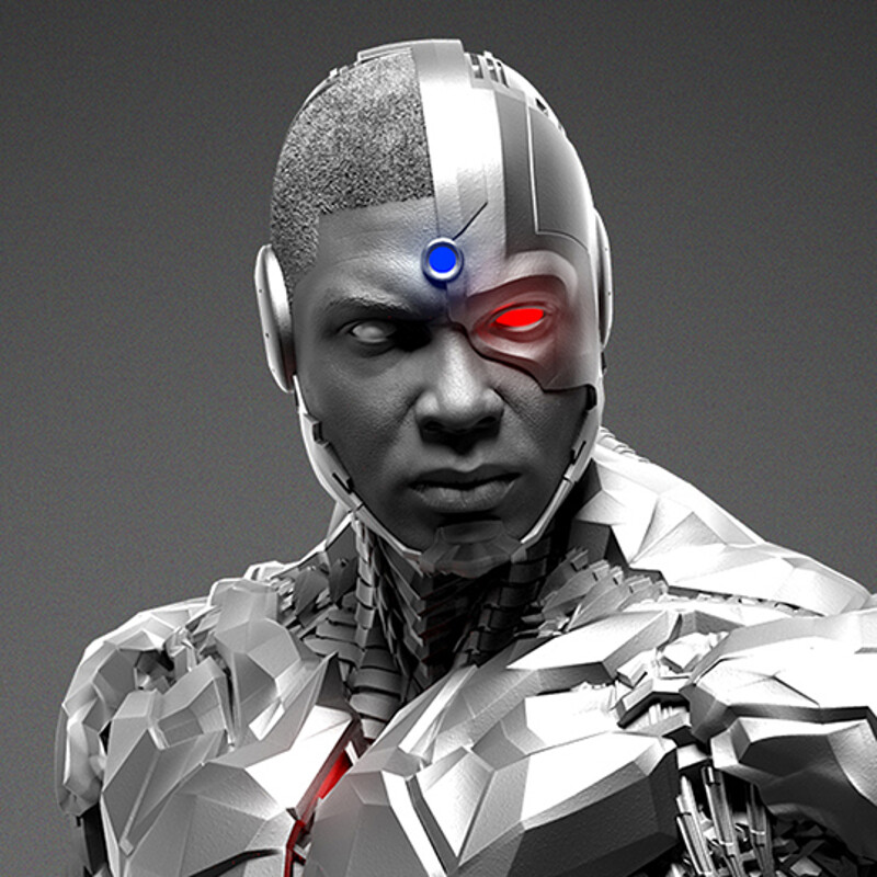 Cyborg - Justice League - Prime 1 - Renders