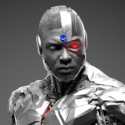 Cyborg - Justice League - Prime 1 - Renders