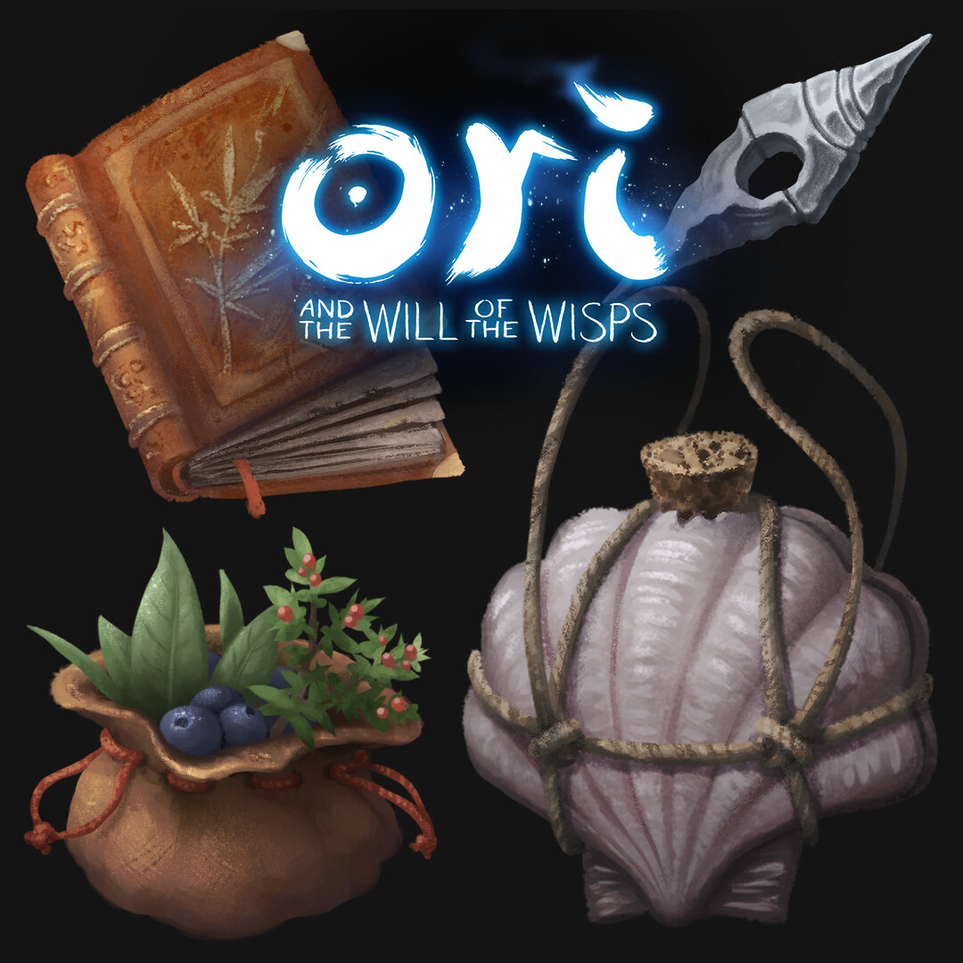Ori and the Will of the Wisps - Quest Pickups