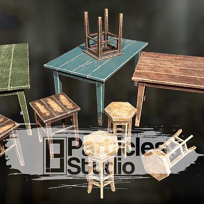 Furniture game assets