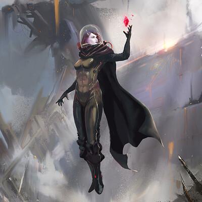 Xavier cuenca 2 heroines gen 2