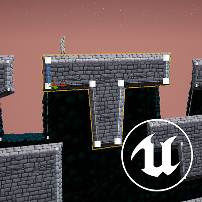 2D Spline Terrain for UE4 - (Work in progress)