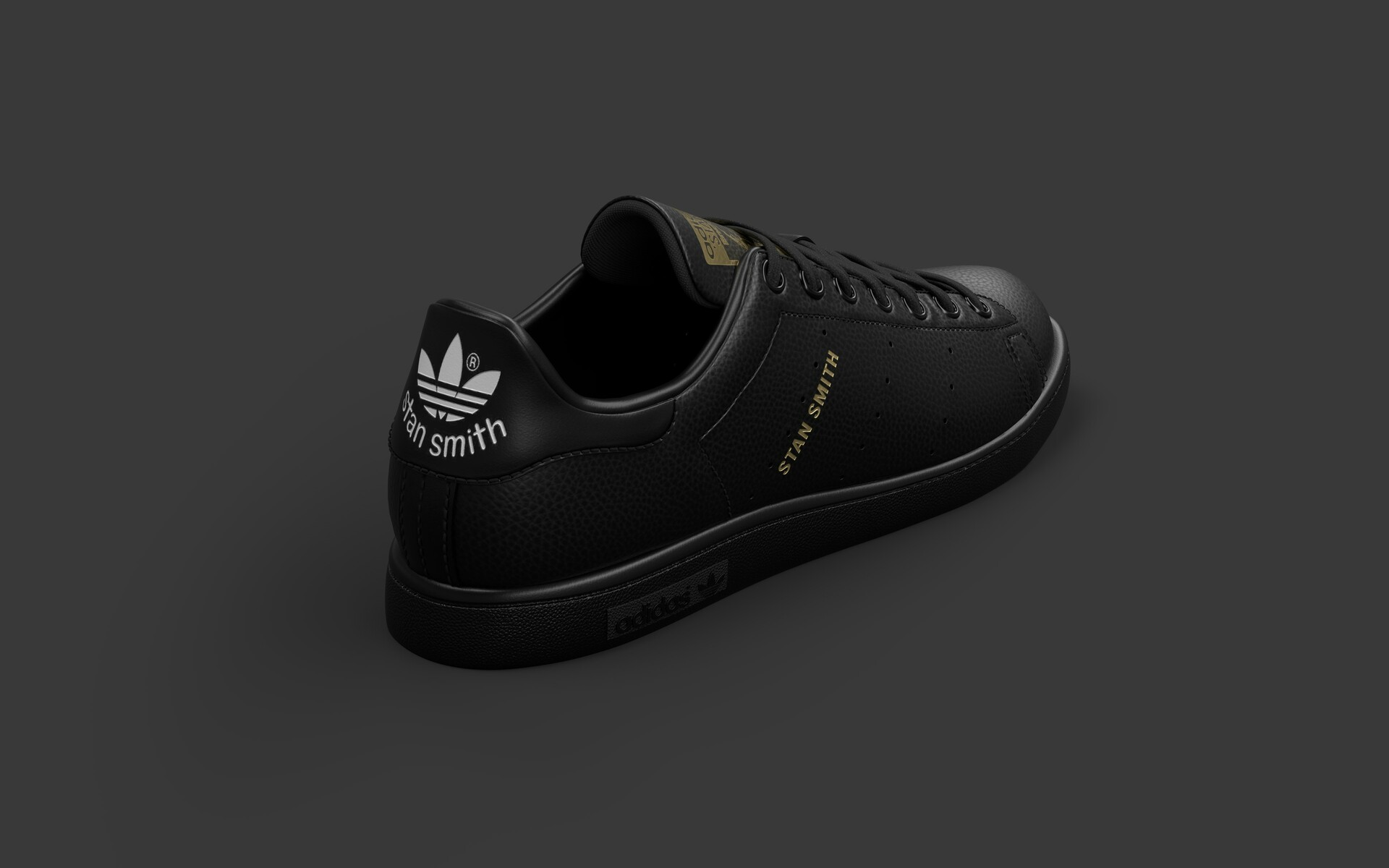 stan smith black limited edition