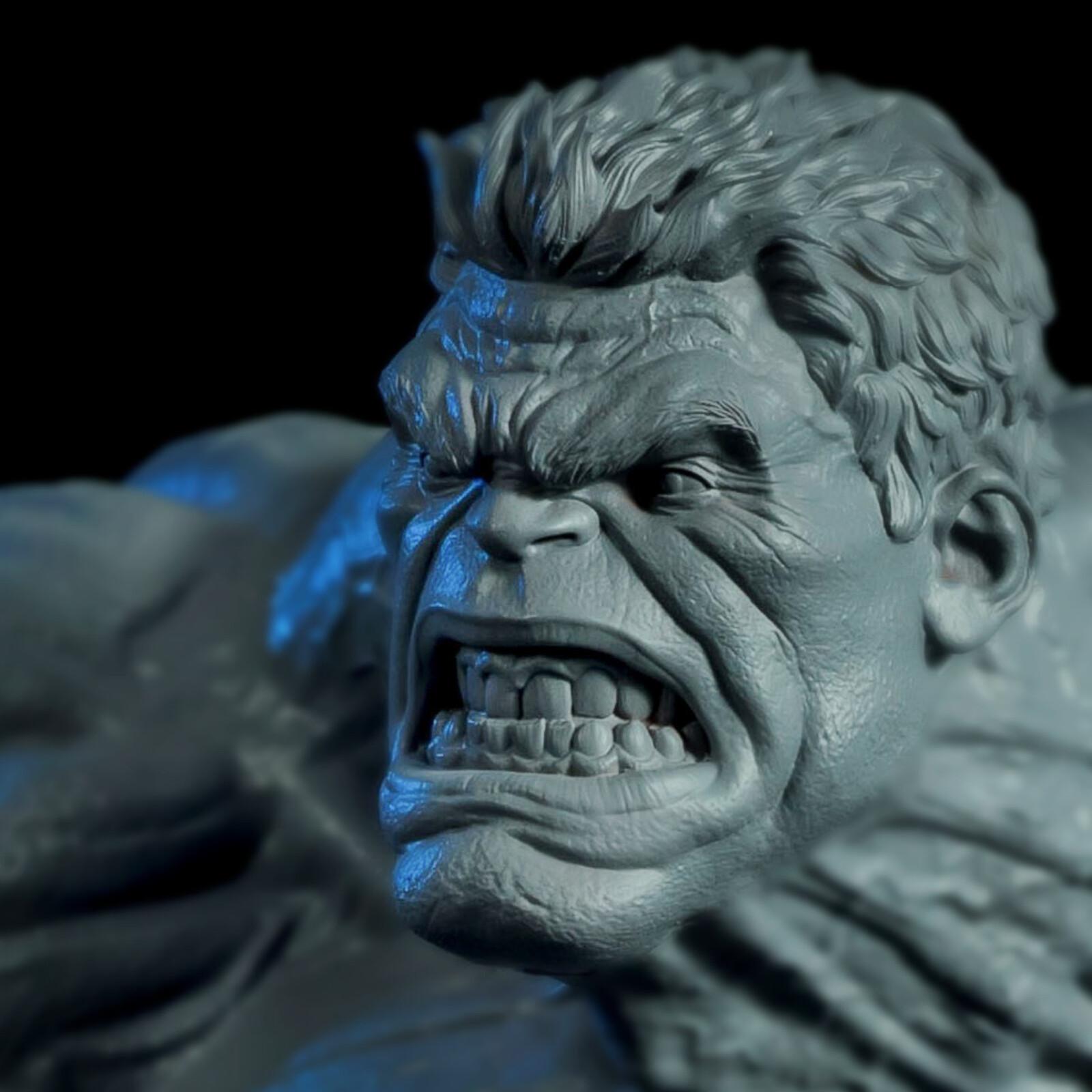 Hulk 1:4 3D print