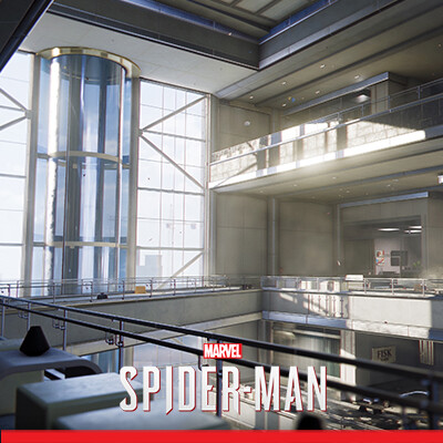 Spider-Man PS4 - Fisk Tower Interiors