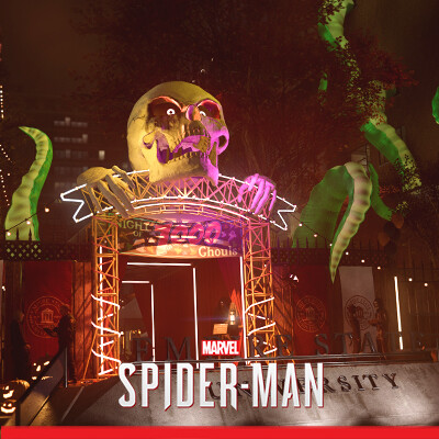 SPIDER-MAN PS4 - ESU Halloween Party