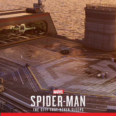 Spider-Man PS4: DLC -  Sable Carrier