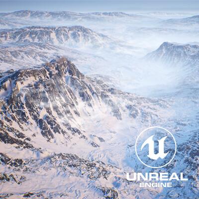 Arctic Tundra Vista: UE4