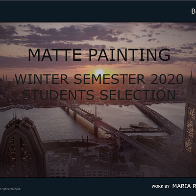 Eric bouffard cgmaplacard winter semester card 2020