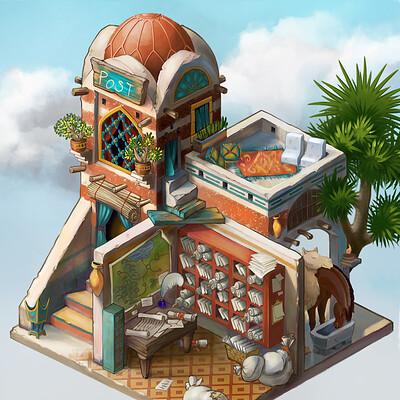 Yen shu liao concept art yenshuliao desert isometric savepoint thumb2