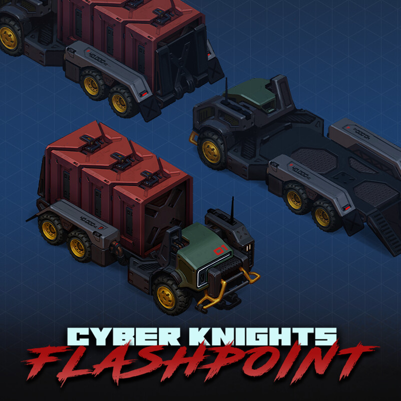 Cyber Knights: Flashpoint - Vehicles