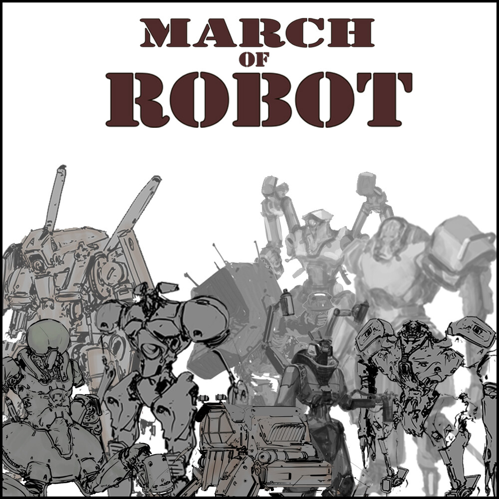 March of Robots - 2020