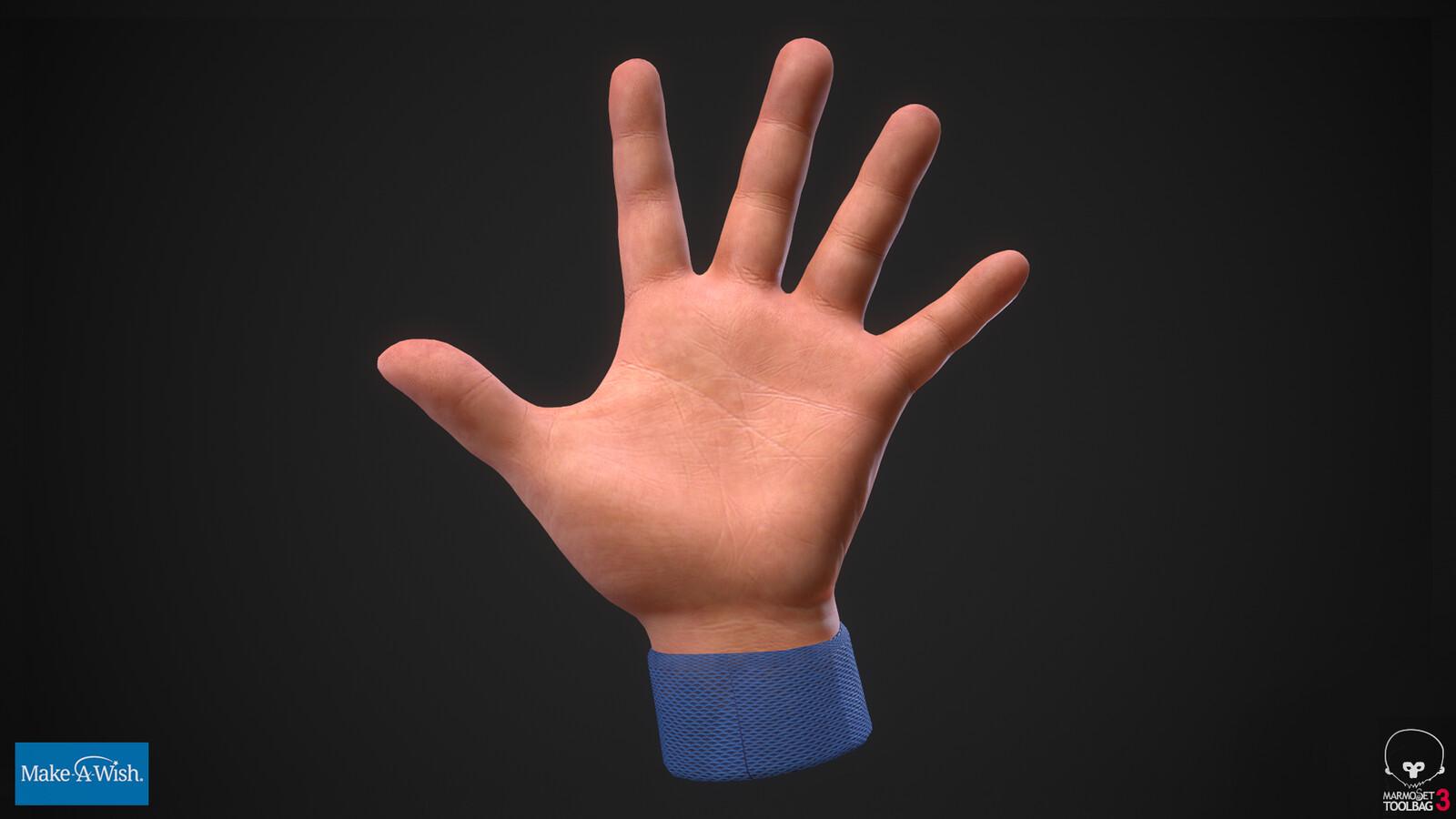 Child VR Hands