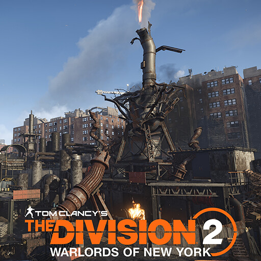 TCTD2 - Warlords of New York - Oil Refinery