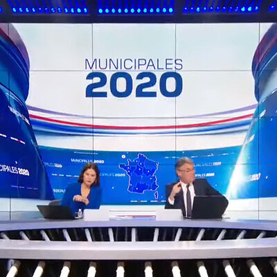 Élections Municipales 2020 BFMTV / Stage + AR