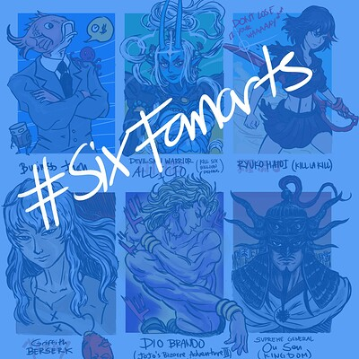 Dylan briones six characters cover
