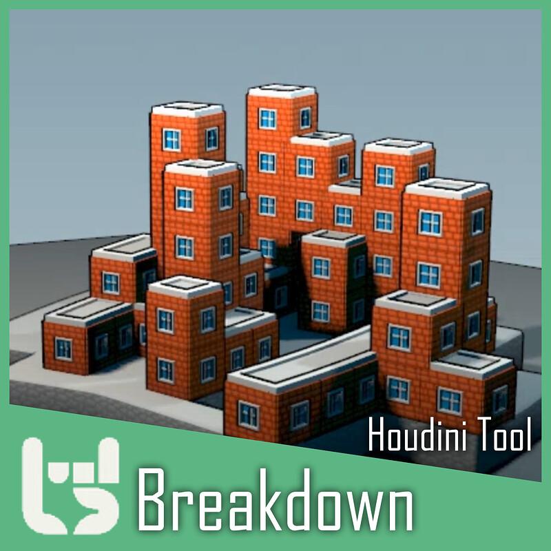 Houdini City Builder    WIP