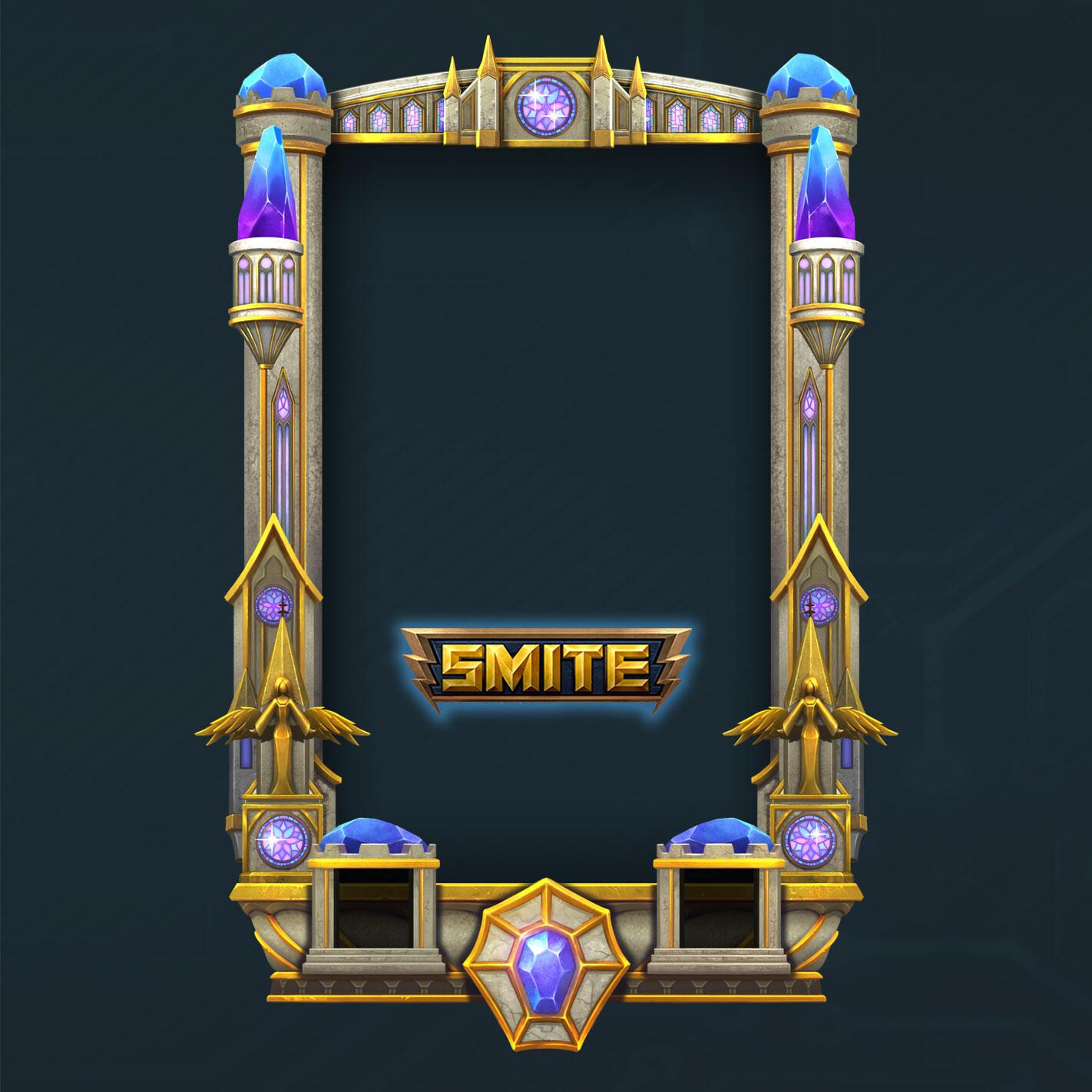 Sacred frame_ Smite game